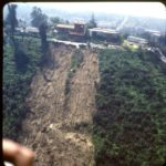 10 Mudslide below homes.Mandeville Cyn. #4. 3-14-1980 (Medium)
